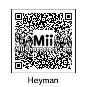 QR Code for Paul Heyman by OtheOtie