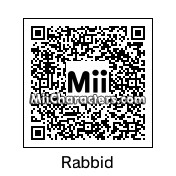 QR Code for Rayman's Raving Rabbid by *nintendo*