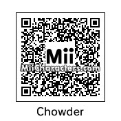 QR Code for Chowder by Doodah