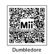 QR Code for Albus Dumbledore by Annie