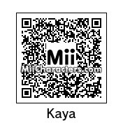 QR Code for Kaya Scodelario by AnthonyIMAX3D