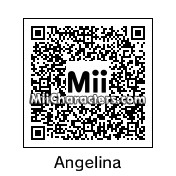 QR Code for Angelina Jolie by Maya