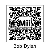 QR Code for Bob Dylan by Maya
