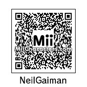 QR Code for Neil Gaiman by Andy Anonymous