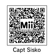 QR Code for Capt. Benjamin Sisko by Andy Anonymous