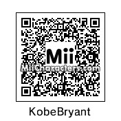 QR Code for Kobe Bryant by Nil