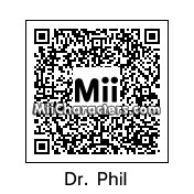 QR Code for Dr. Phil McGraw by blueandyellow