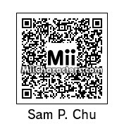 QR Code for Samuel Patrick Chu by AnthonyIMAX3D