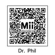 QR Code for Dr. Phil McGraw by H Hog