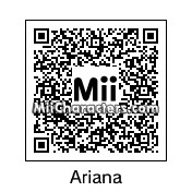 QR Code for Ariana Grande by Mrtoothpaste