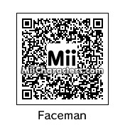 QR Code for Faceman by ninbendo