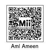 QR Code for Aml Ameen by AnthonyIMAX3D