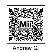QR Code for Andrew Garfield by AnthonyIMAX3D