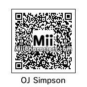 QR Code for O.J. Simpson by MickJamesFromY