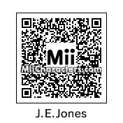 QR Code for James Earl Jones by Zooter