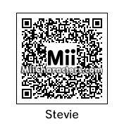 QR Code for Stevie Wonder by Gertrudis
