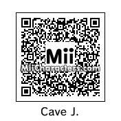 QR Code for Cave Johnson by TeeOS