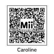 QR Code for Caroline by TeeOS