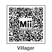 QR Code for Animal Crossing Male Villager by Burgy