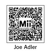QR Code for Joe Adler by AnthonyIMAX3D
