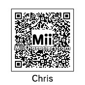 QR Code for Chris Sheffield by AnthonyIMAX3D