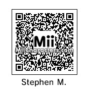 QR Code for Stephen Merchant by TeeOS