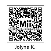 QR Code for Jolyne Kujo by Eben Frostey