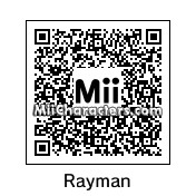QR Code for Rayman by Dgamer42