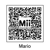 QR Code for Mario by Amiibo Maker