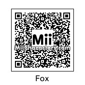 QR Code for Fox McCloud by Amiibo Maker