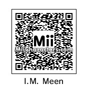QR Code for I. M. Meen by ScrotesMcGotes