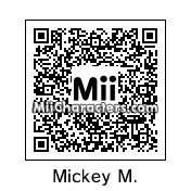 QR Code for Mickey Mouse by Nils