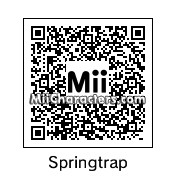 QR Code for Springtrap by EvilVamp