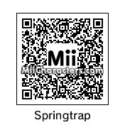QR Code for Springtrap by Ghoul McSpook