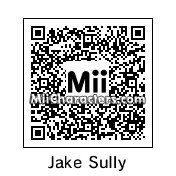 QR Code for Jake Sully by Dani