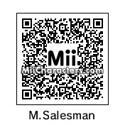 QR Code for Happy Mask Salesman by Digibutter