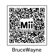 QR Code for Bruce Wayne by Cyborgsaurus