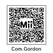 QR Code for Commissioner Gordon by Cyborgsaurus