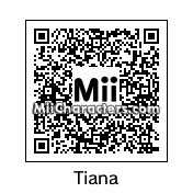 QR Code for Princess Tiana by Law