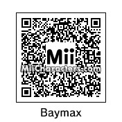 QR Code for Baymax by Cyborgsaurus