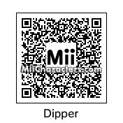 QR Code for Dipper Pines by Cyborgsaurus