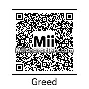 QR Code for Greed by Mordecai
