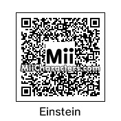 QR Code for Albert Einstein by Tina