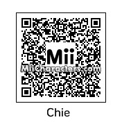 QR Code for Chie Satonaka by BustermanZX