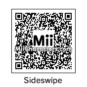 QR Code for Sideswipe by Grimlock