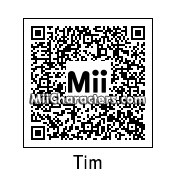 QR Code for Tim McIlrath by Mordecai