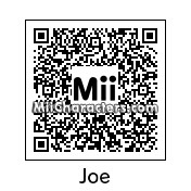 QR Code for Joe Principe by Mordecai