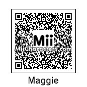 QR Code for Maggie Greene by Mordecai