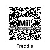 QR Code for Freddie Mercury by Ynneb17