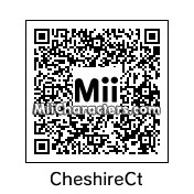 QR Code for Cheshire Cat by Toon and Anime